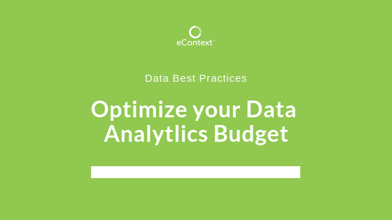 data analytics budget